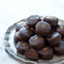 Dark Chocolate Banana Truffles