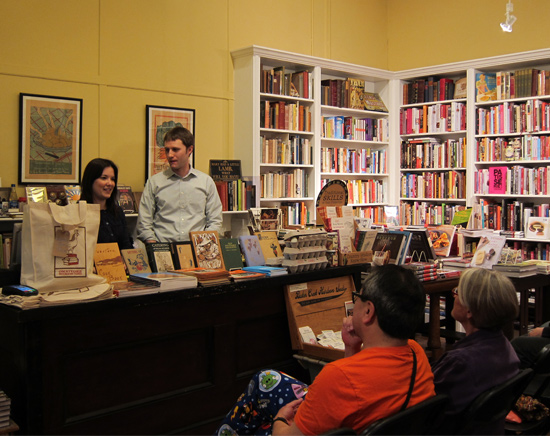 Book Signing at Omnivore Books, San Francisco CA