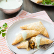 Vegetarian Lentil and Sweet Potato Empanadas
