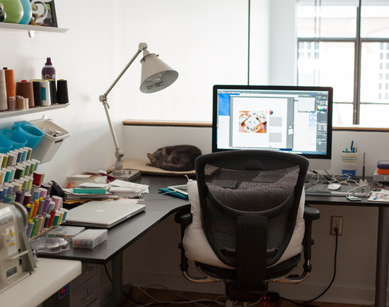 A Messy Desk is a Creative Mind.