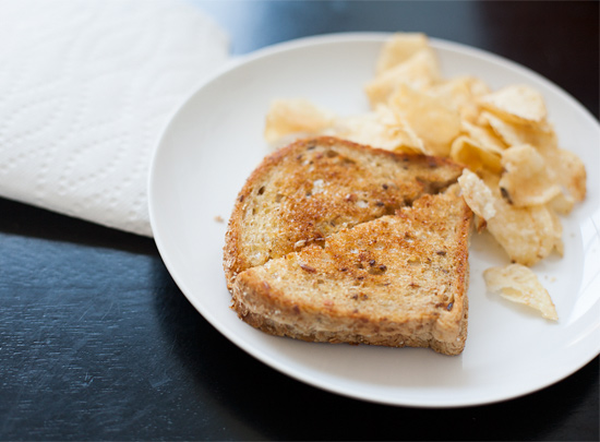 Grilled Cheese for Lunch.