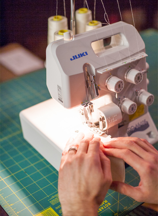 Taylor sews and serges!