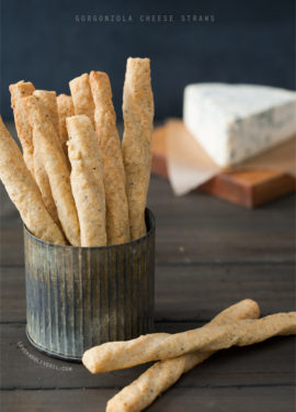 Gorgonzola Cheese Straws