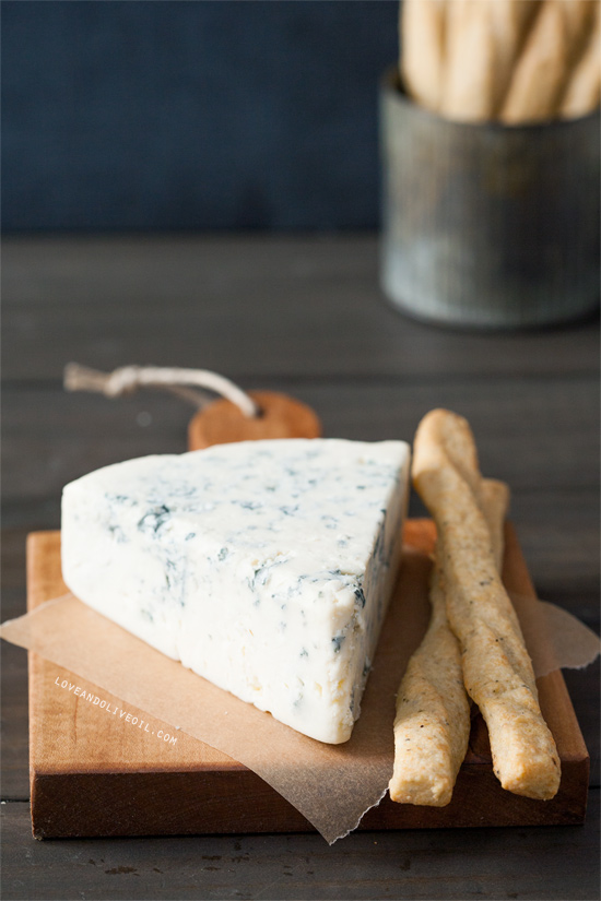 Gorgonzola Cheese Straws