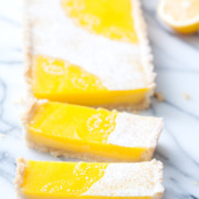 Lemon Macadamia Nut Tart