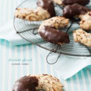 Chocolate Glazed Almond Horns