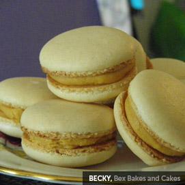 Kitchen Challenge, Macarons: Becky