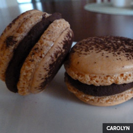 Kitchen Challenge, Macarons: Carolyn