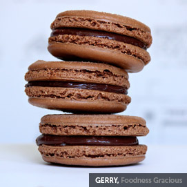 Kitchen Challenge, Macarons: Gerry