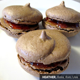 Kitchen Challenge, Macarons: Heather