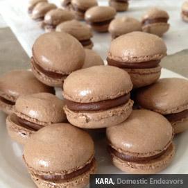 Kitchen Challenge, Macarons: Kara