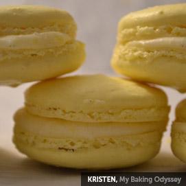 Kitchen Challenge, Macarons: Kristen
