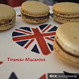 Kitchen Challenge, Macarons: Nick