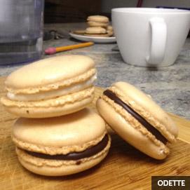 Kitchen Challenge, Macarons: Odette