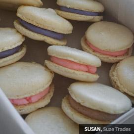 Kitchen Challenge, Macarons: Susan