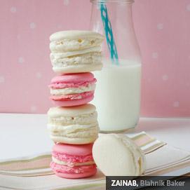 Kitchen Challenge, Macarons: Zainab
