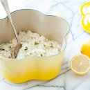 Baked Lemon Risotto Recipe for Le Creuset