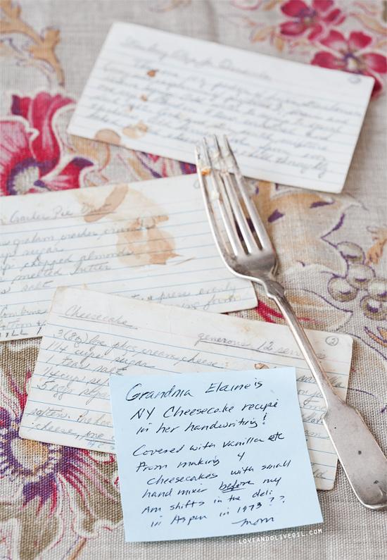 Grandma Elaine's New York Cheesecake Recipe