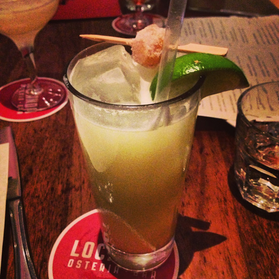 Ginger Ale from Locanda, San Francisco