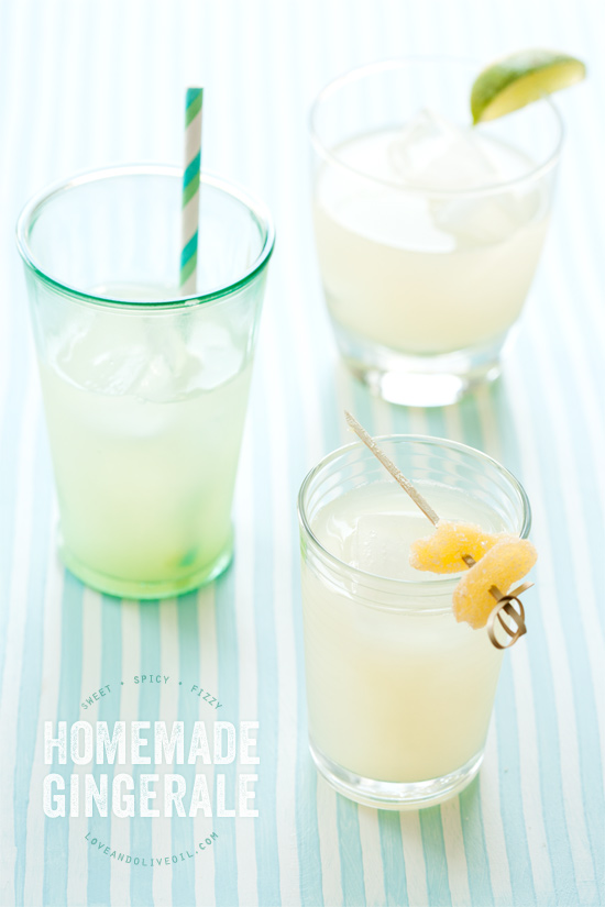 Homemade Gingerale