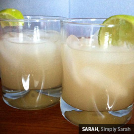 Kitchen Challenge, Ginger Ale: Sarah