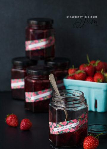 Strawberry Hibiscus Jam