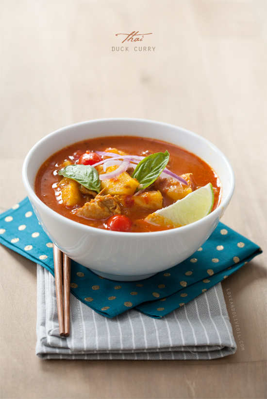 Red Thai Duck Curry