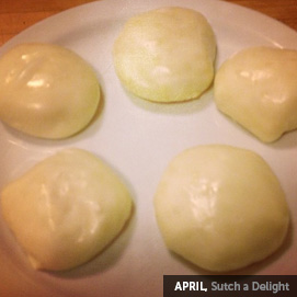 Kitchen Challenge, Mozzarella: April