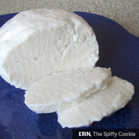 Kitchen Challenge, Mozzarella: Erin