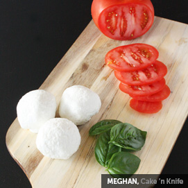 Kitchen Challenge, Mozzarella: Meghan