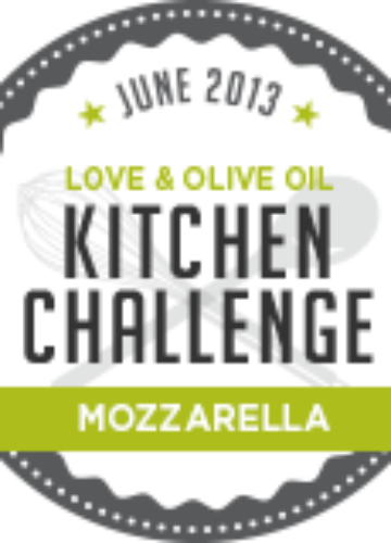 June Kitchen Challenge - Mozzarella