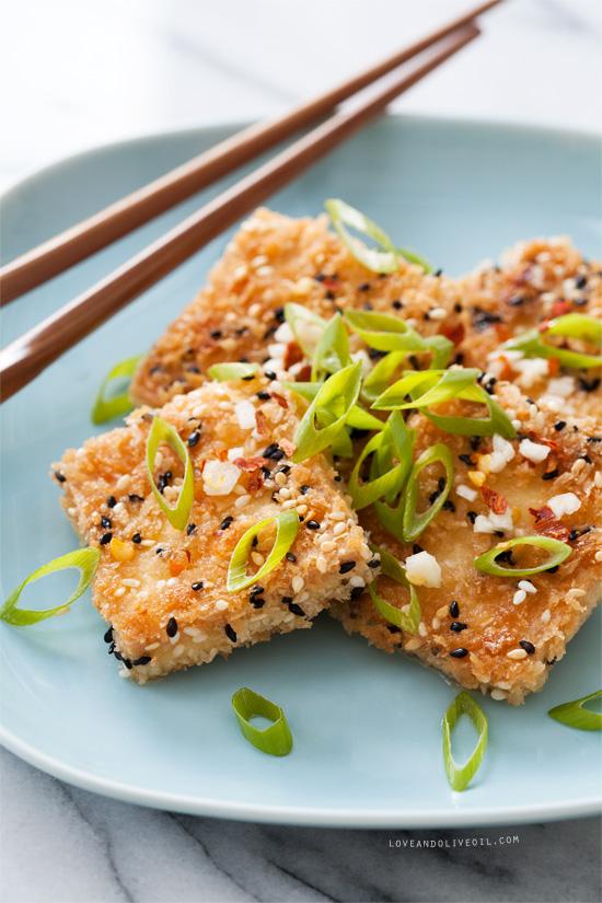 Sesame Crusted Tofu