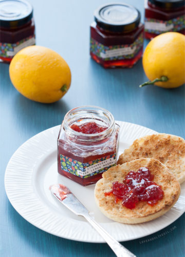 Strawberry & Meyer Lemon Marmalade