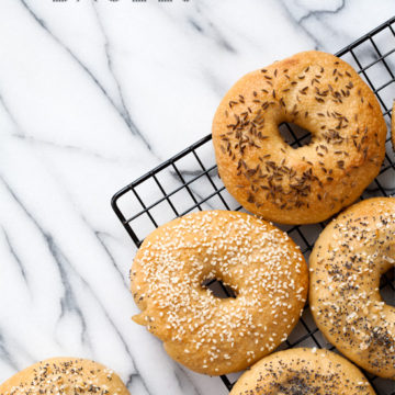 Homemade Bagels - July Kitchen Challenge