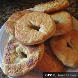 Kitchen Challenge, Bagels: Cassie