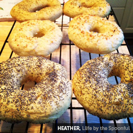 Kitchen Challenge, Bagels: Heather