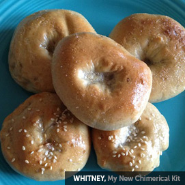 Kitchen Challenge, Bagels: Whitney