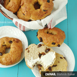 Kitchen Challenge, Bagels: Zainab