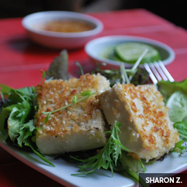 August Kitchen Challenge, Tofu - Sharon