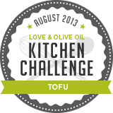August Kitchen Challenge - Tofu