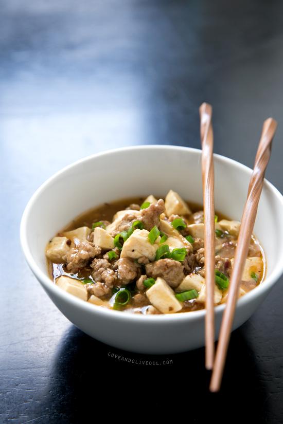 Mapo Tofu with Homemade Tofu