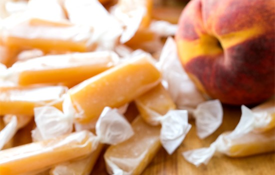 Peach Caramels