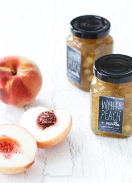 White Peach & Vanilla Jam