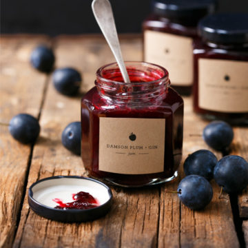 Damson Gin Recipe >> Damson Plum & Gin Jam | Love and Olive Oil