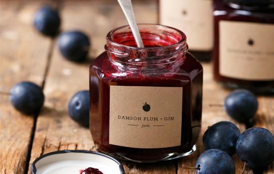 Damson Plum & Gin Jam