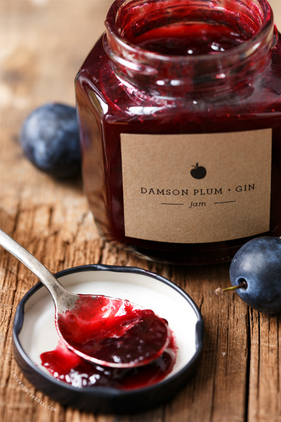 Damson Plum and Gin Jam