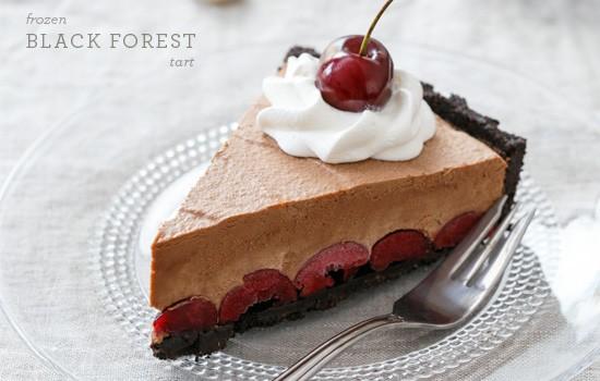 Frozen Black Forest Tart
