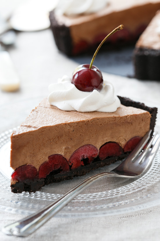 Frozen Black Forest Tart