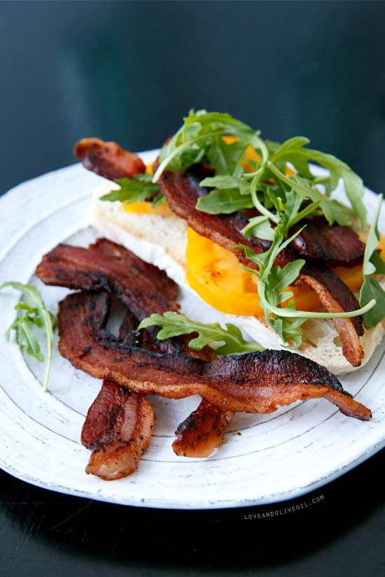 Homemade Bacon BLT