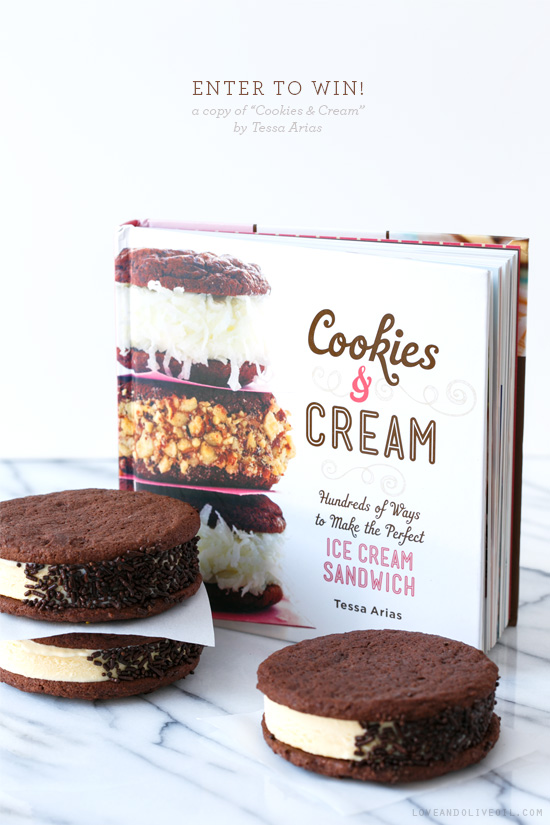 Malted Chocolate Ice Cream Sandwiches